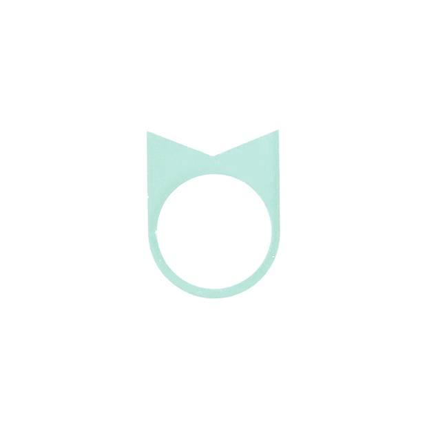 oform ring acrylaat no.  22 | 1.0 glacier green