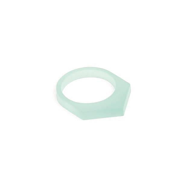 oform ring acrylaat no. 1 | 1.0  glacier green