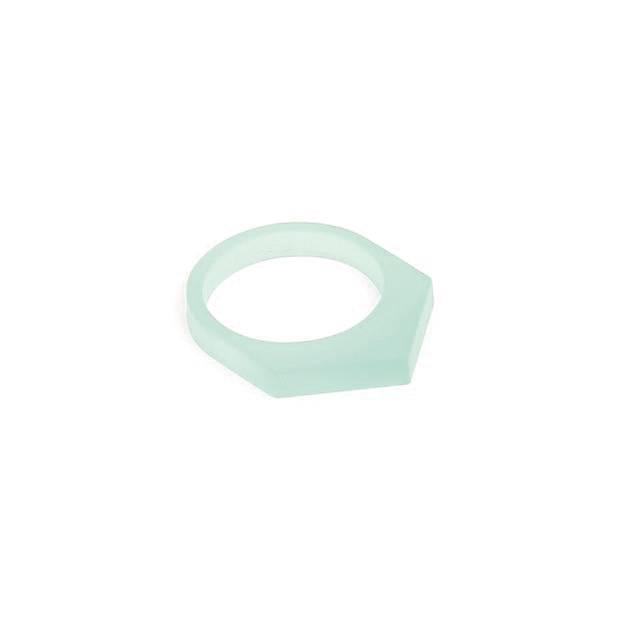 oform ring acrylate  no. 1 | 1.0 glacier green