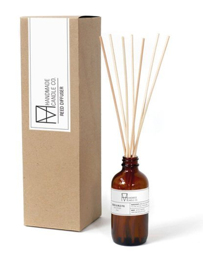 handmade candle co. Reed diffusers Cassis & Wild Fig