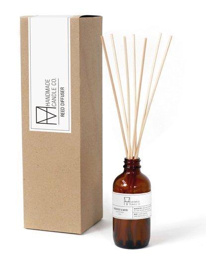 handmade candle co. geurstokjes Amber & Musk