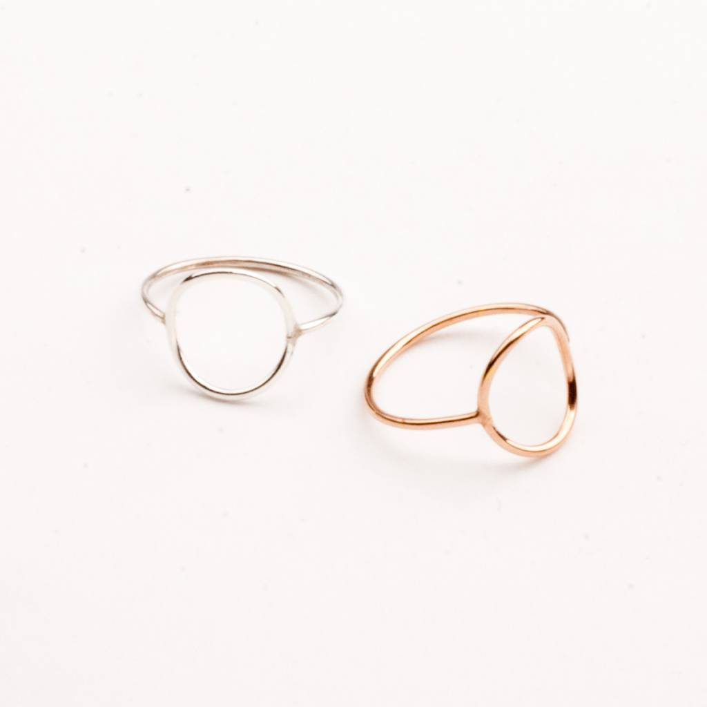 charlotte wooning ring geometry circle