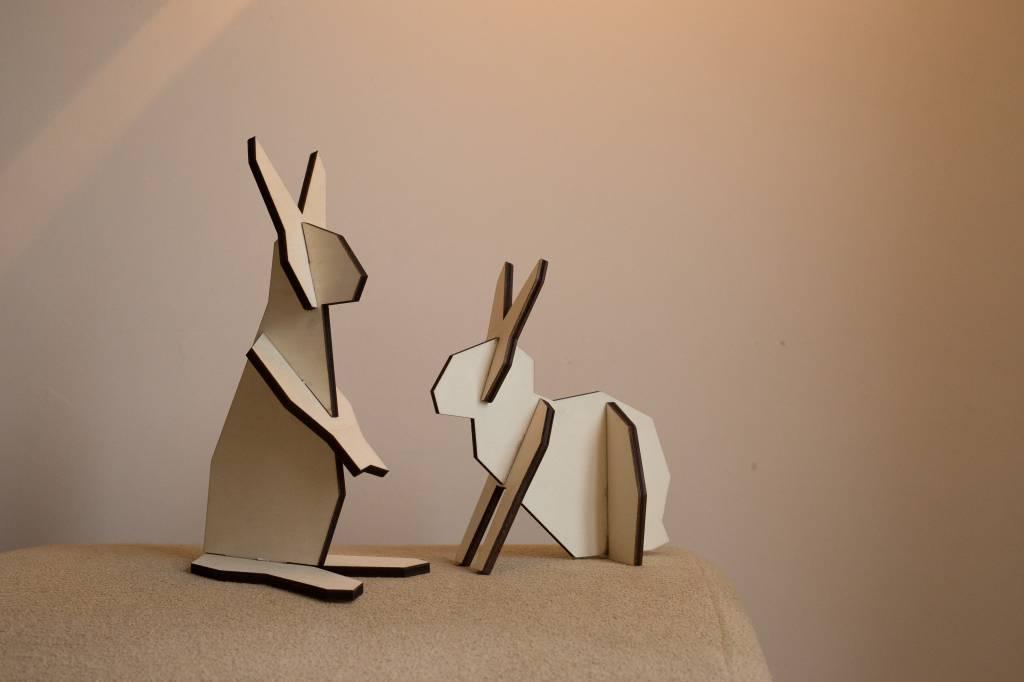 Atelier Pierre  noRdic Konijntjes puzzel - S