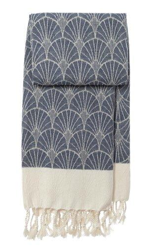 mocco | made of cotton co. hamamdoek Wave - indigo
