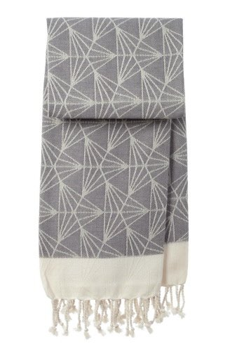 mocco | made of cotton co. hamamtowel Triangle - grey