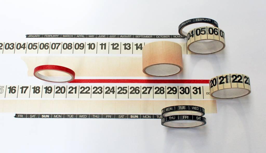 mo man tai calendar -  Year Round