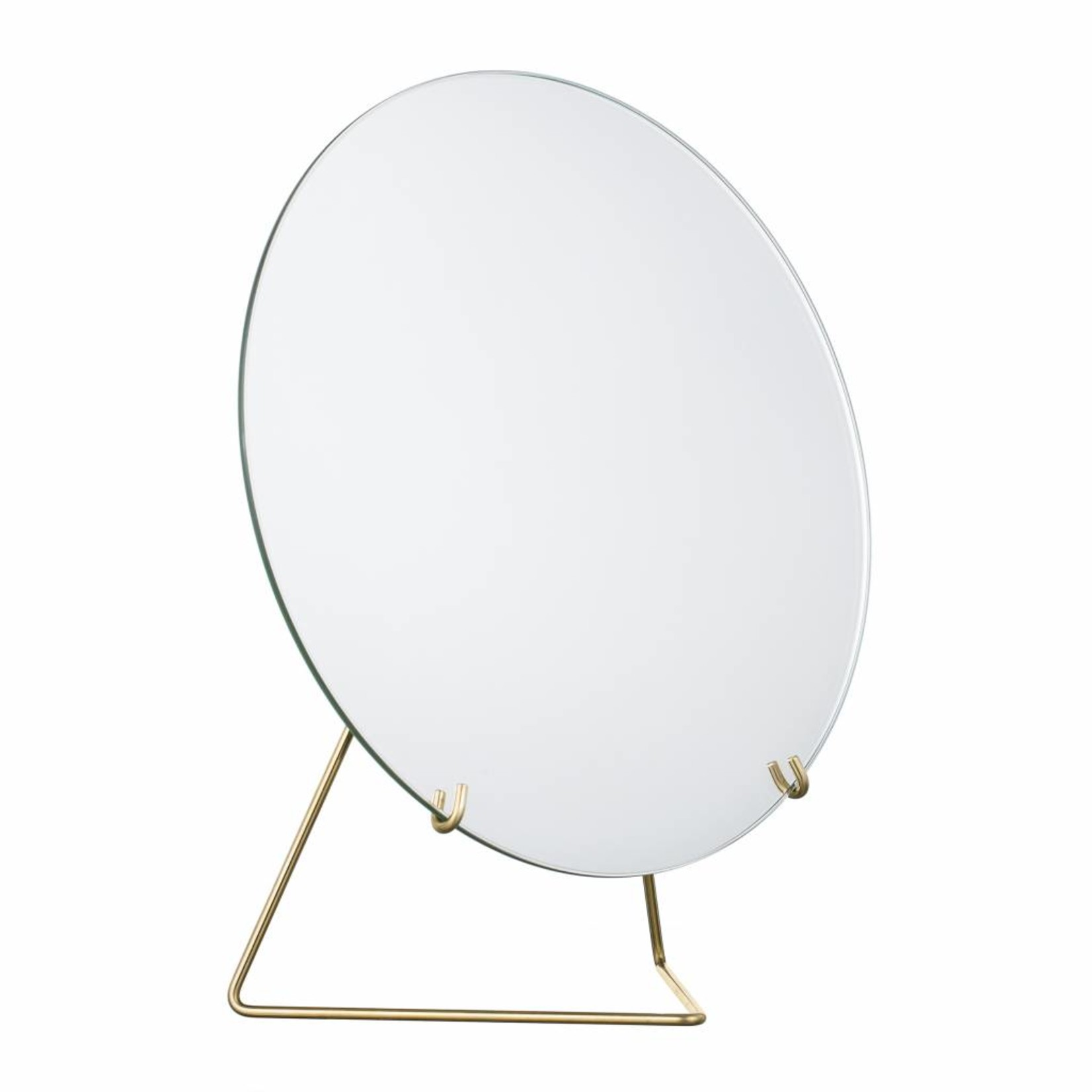 moebe mirror - brass