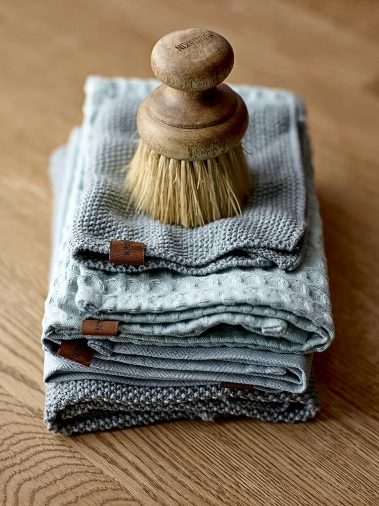 humdakin dish cleaning brush - wood