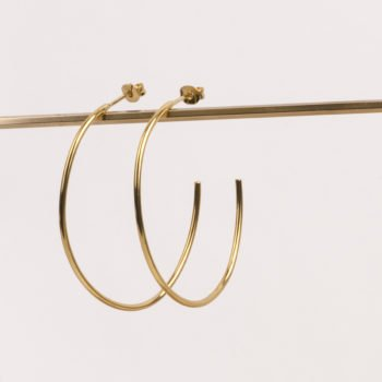 charlotte wooning earrings big hoop
