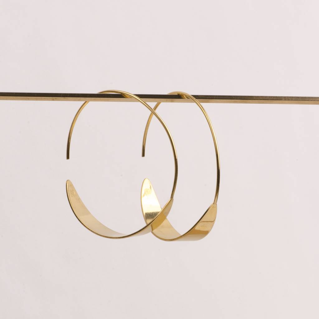 charlotte wooning earrings moon
