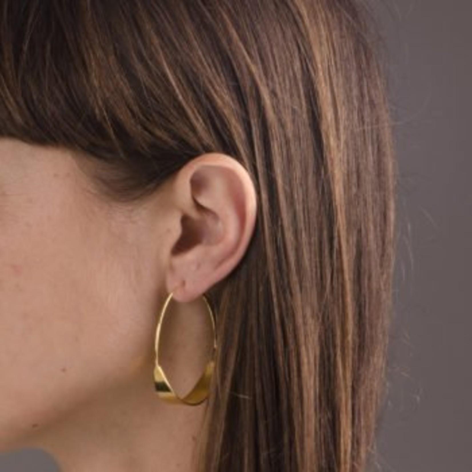 charlotte wooning earrings moon