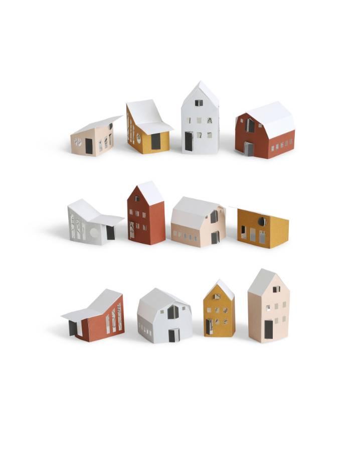 jurianne matter  bygge - papieren huisjes