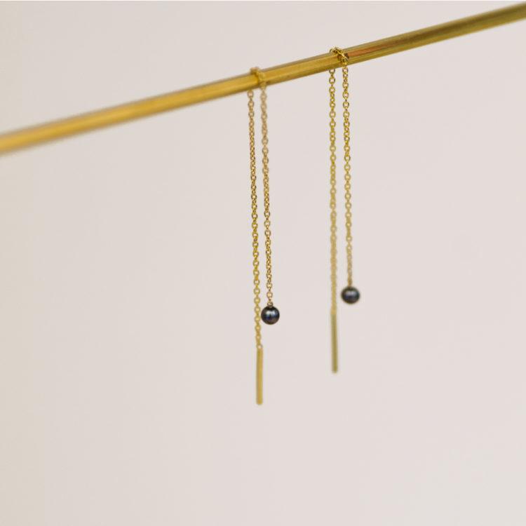charlotte wooning earrings mercurius