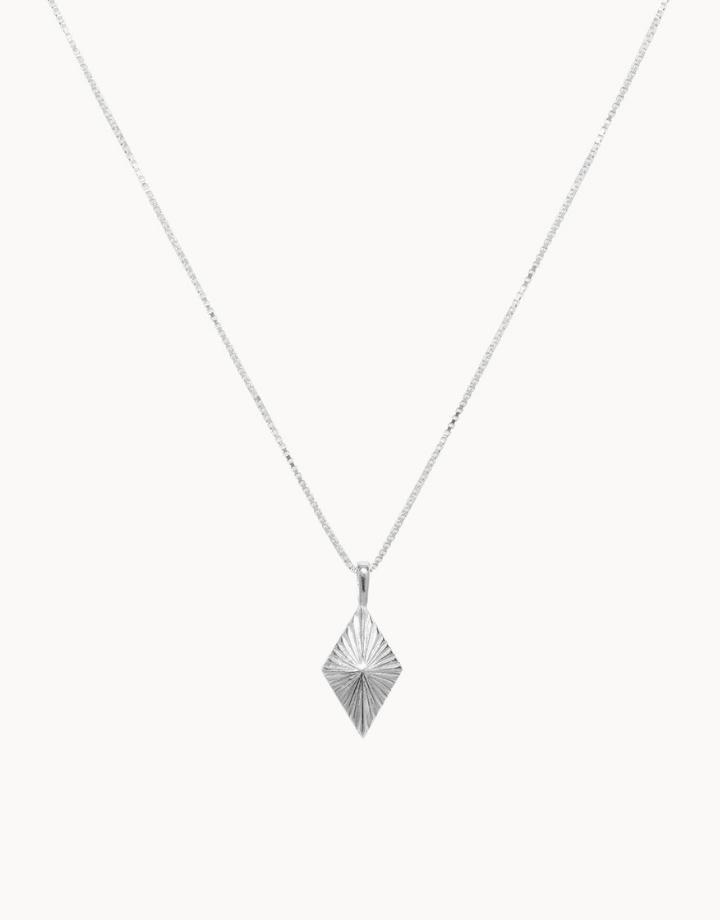 flawed  luminous ketting  - zilver
