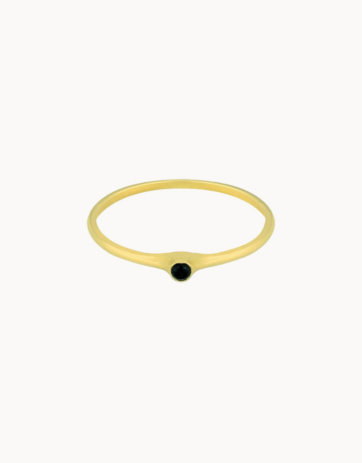 flawed  ring petite rose - goud