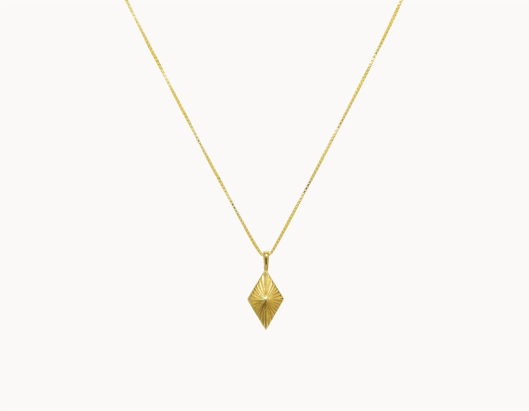 flawed  luminous ketting  - goud