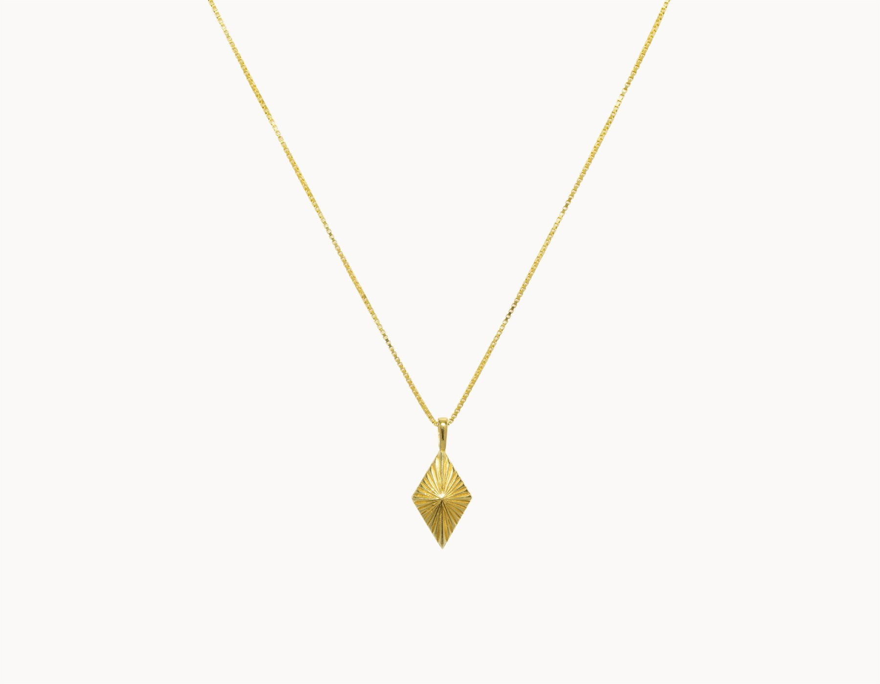 flawed  luminous necklace - gold