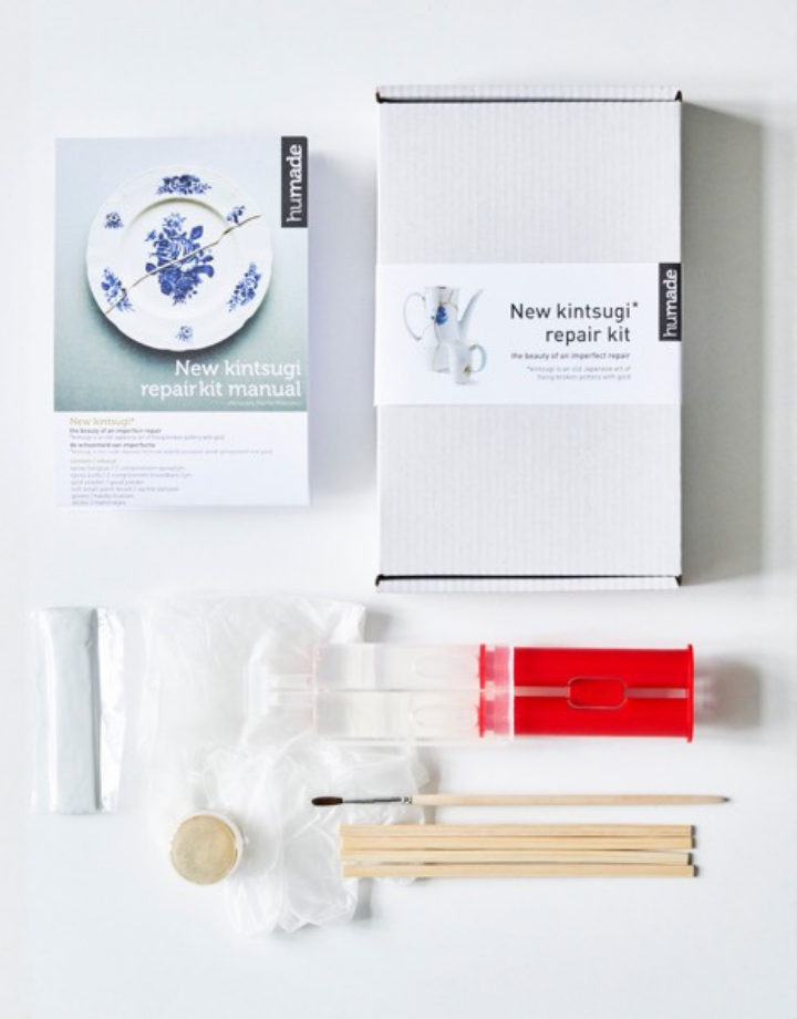 humade humade kintsugi ceramics repair kit - gold