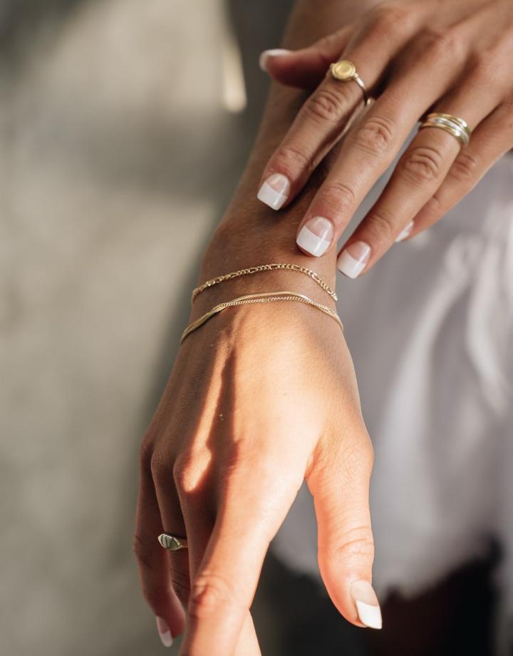 flawed  flawed bracelet oleander - silver