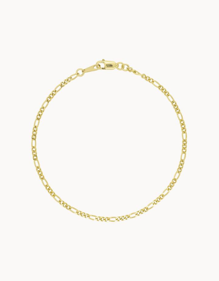 flawed  flawed bracelet vintage - gold