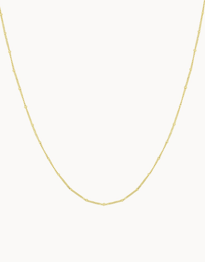 flawed  flawed ketting dotted - goud