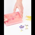 studio carmela bogman pocket flowerpress - roze