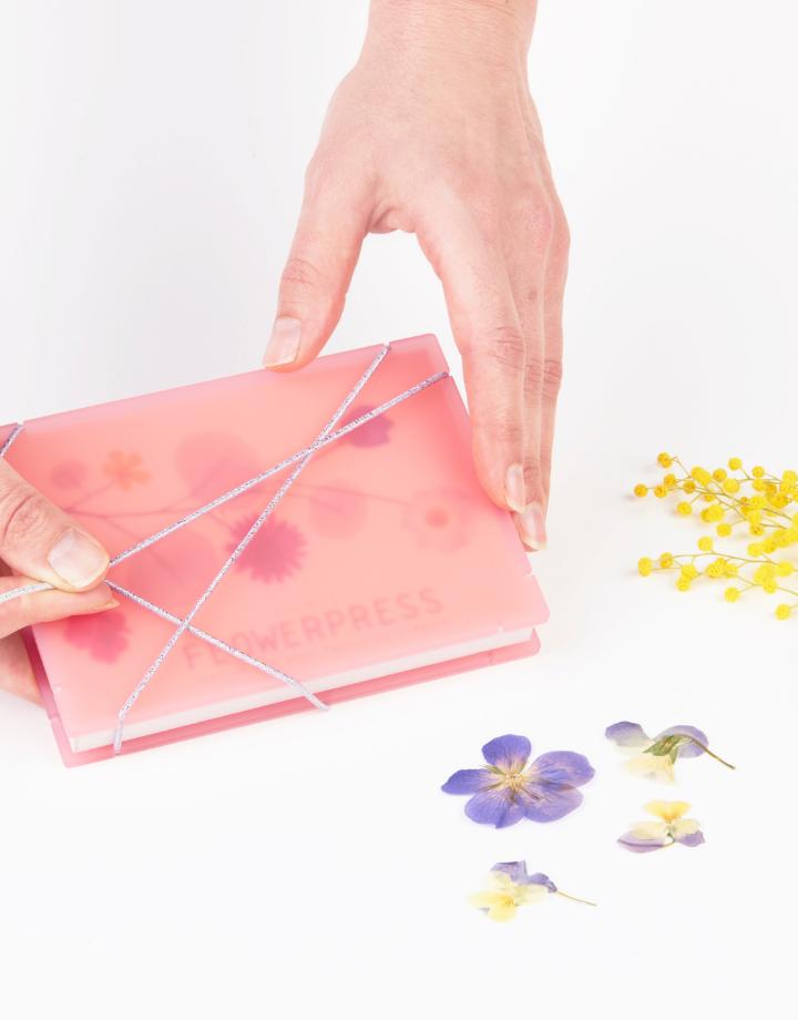 studio carmela bogman studio carmela bogman - pocket flowerpress- roze