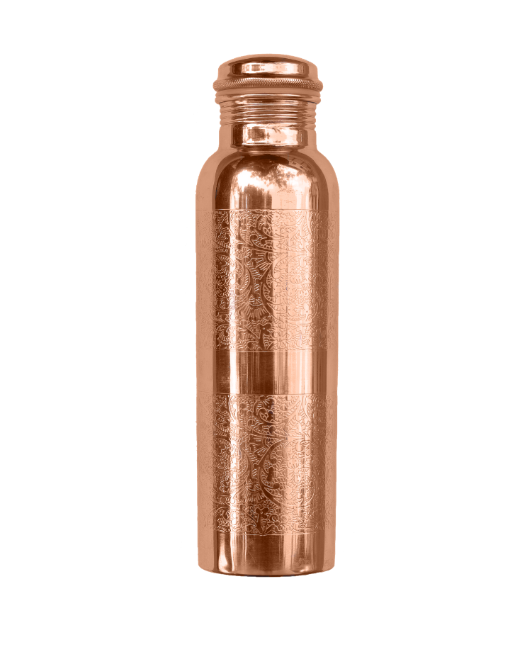 forrest & love forrest & love copper water bottle engraved - 900 ml