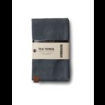 humdakin tea towel - dark ash