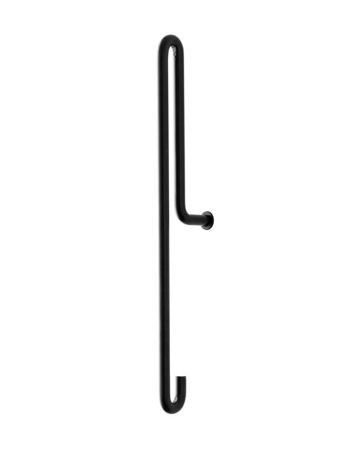 moebe moebe wandhaak large - zwart