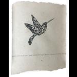 NADesign poster - hummingbird