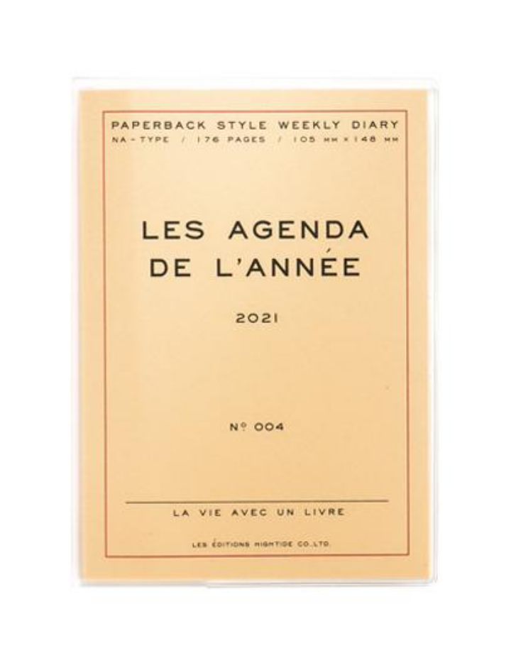 hightide / penco hightide 2021 Les Agenda de L'Année - cream