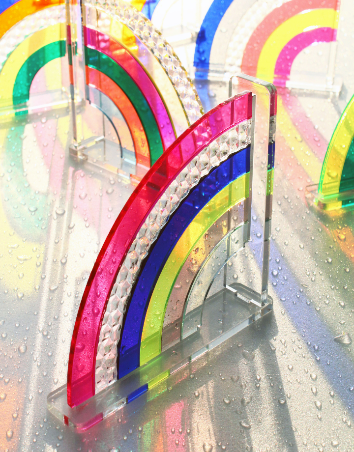 mo man tai mo man tai - diy rainbow kit - diamond  editie