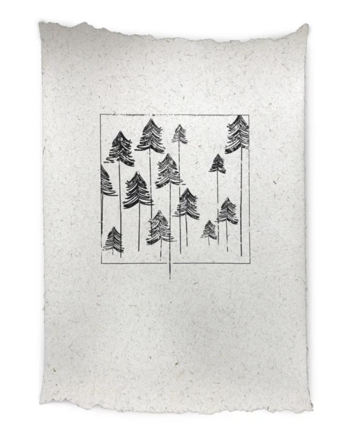 NADesign NADesign poster - bomen large