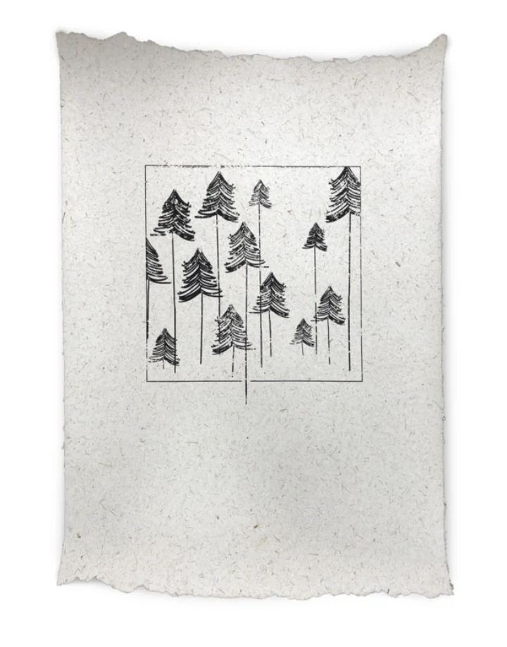 NADesign NADesign poster -  trees large