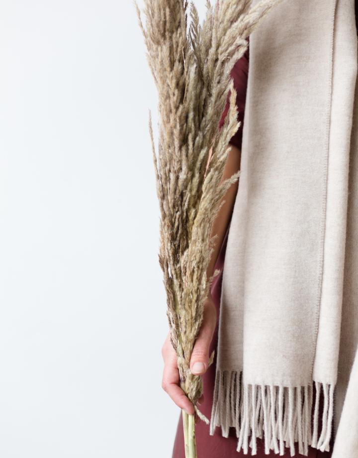 coisa coisa sjaal re-wool - sand