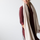 coisa coisa shawl re-wool - sand