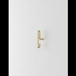 moebe wall hook  small - matt gold