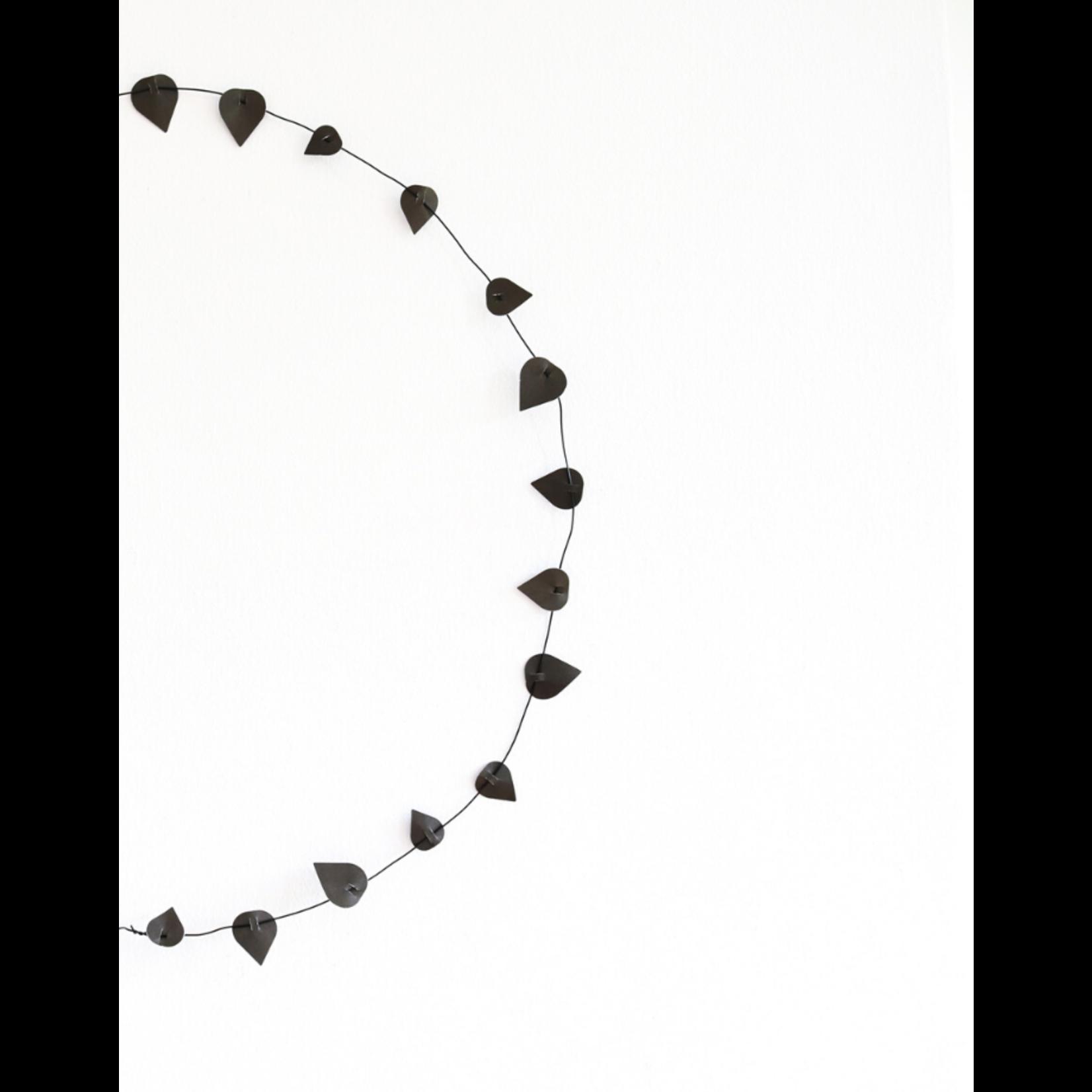 jurianne matter  jurianne matter - twig leaves - zwart