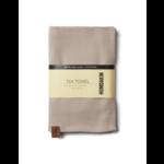 humdakin Tea towel - light stone
