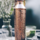 forrest & love forrest & love copper bottle  hammered crystal - 850ml