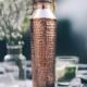 forrest & love forrest & love koperen waterfles  hammered crystal - 850ml