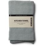 humdakin Knitted kitchen towel - stone