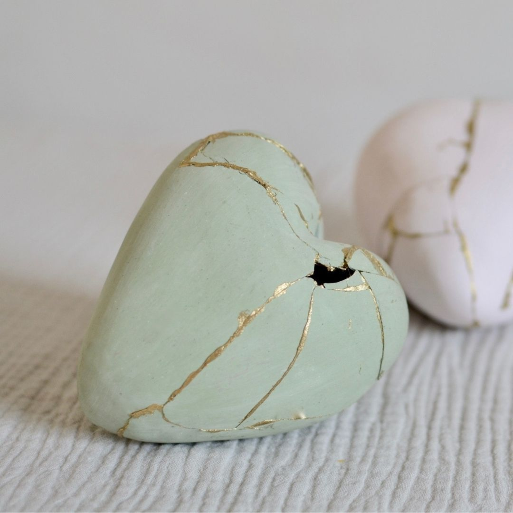 open your heart studio Open your heart studio - kintsugi hart - forest