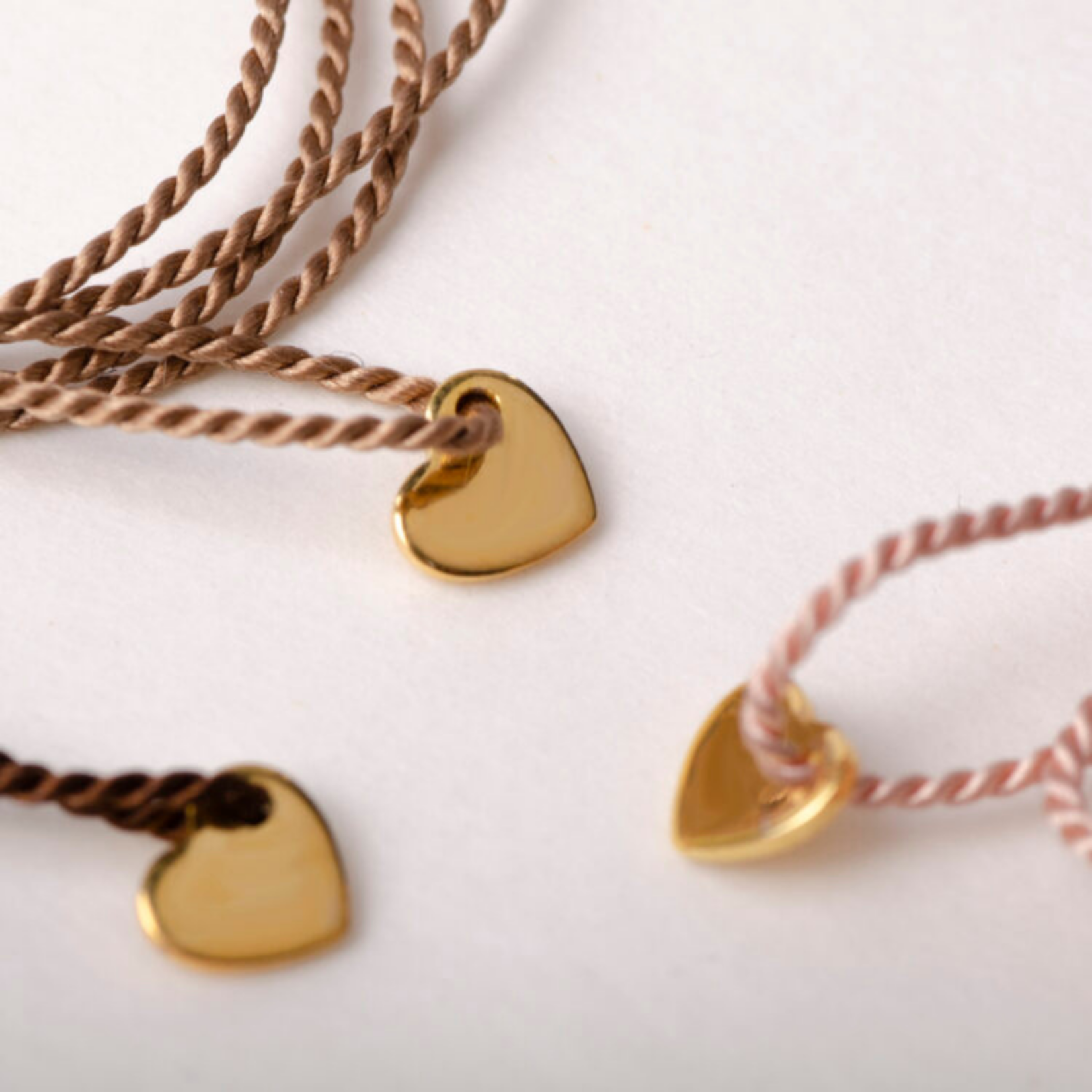 charlotte wooning charlotte wooning - bracelet love knot