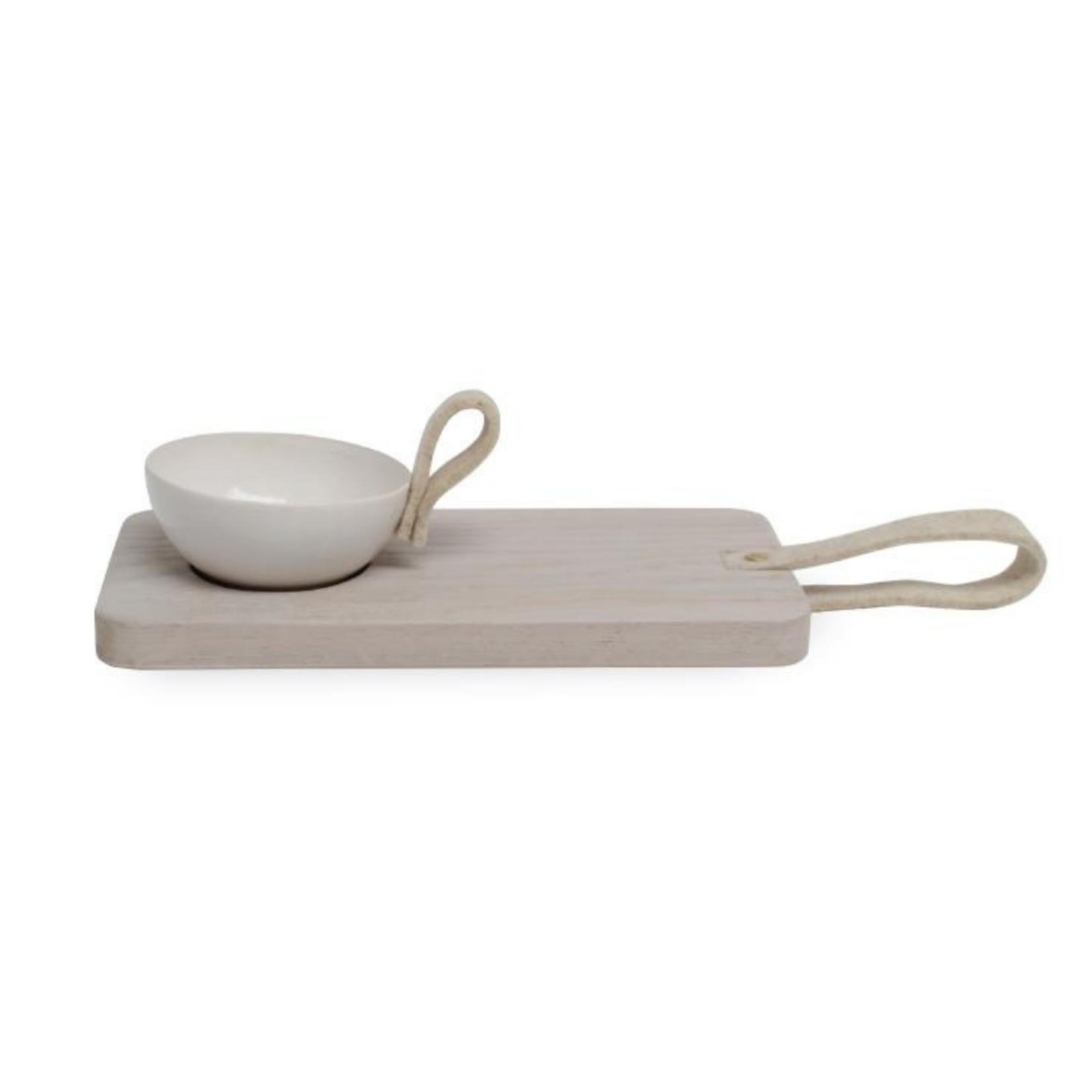 NADesign NADesign wooden cutting board - white
