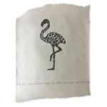 NADesign poster - flamingo
