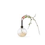 scandinavia form glasilium vase - black