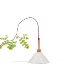 scandinavia form consilium vase - snow white