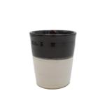 anna nera mug ceramic 2-tone